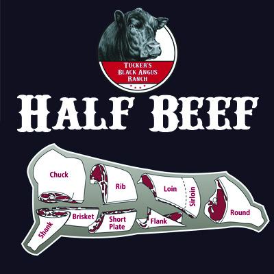 Half Beef - Tucker's Black Angus Beef