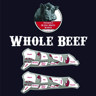 Whole Beef - Tucker's Black Angus Beef