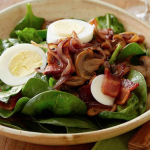 Crispy Spinach Salad - Tuckers Black Angus Ranch