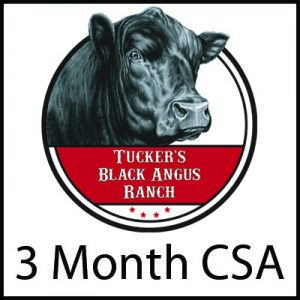 3 Month CSA - Tucker's Black Angus Ranch