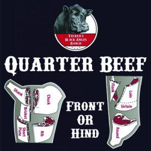 Quarter Beef - Tucker's Black Angus Beef