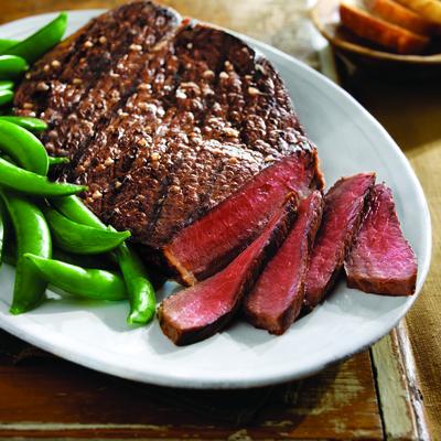 Top Round Steak - Tucker's Black Angus Ranch