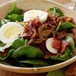 Crispy Spinach Salad - Tuckers Black Angus Ranch